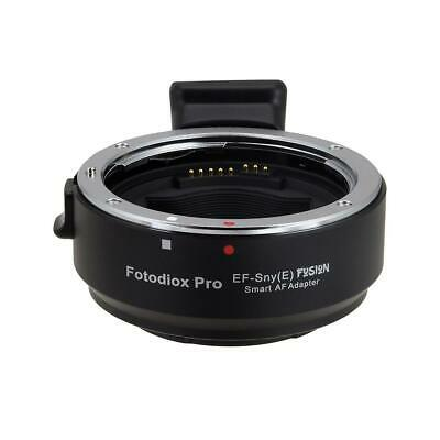 Fotodiox Pro Fusion Smart AF Lens Mount Adapter f/Canon EOS Lens to Sony E-Mount