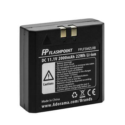 Flashpoint Battery for the Zoom Li-on Flash (VB-18) #FP-LF-SM-ZLRB