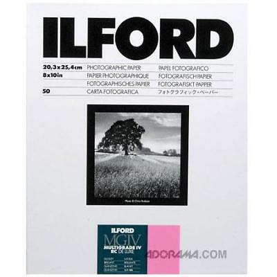 Ilford IV RC Deluxe Resin B/W Paper 8x10in, 50, Glossy #1770339