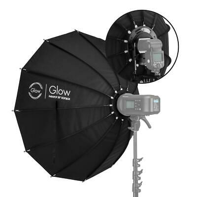 "Glow ParaPop 38"" Portable Softbox With Bowens Mount Adapter #GL-SBSM38PP"