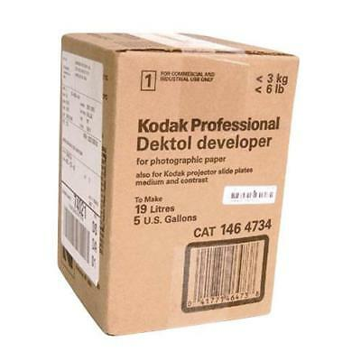 Kodak Dektol Black  White Paper Developer, Powder to Make 5 Gallons. #1464734