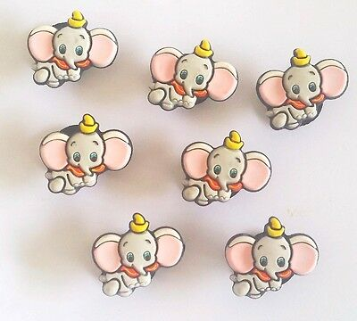 1 Authentique Pins Clip Dumbo Jibbitz Shoe Charm Disney Pour Croc