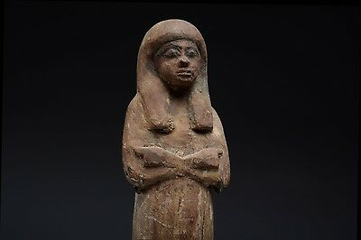 Ancient Egyptian New Kingdom Wooden Shabti - 1292 BC