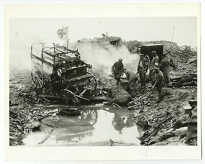 World War I - American Red Cross in Germany - Vintage 8x10 Photograph