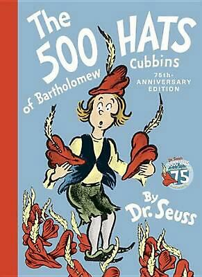 The 500 Hats of Bartholomew Cubbins by Dr Seuss (English) Hardcover Book Free Sh