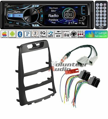 Axxera Car Radio Stereo CD Player Dash Install Mounting Kit Harness Bluetooth