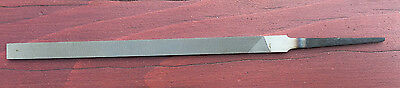 "Nicholson X. F.  Pillar Narrow  8"" Swiss Pattern File No1, Smooth 2 Edges."