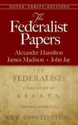 The Federalist Papers by Alexander Hamilton (English) Paperback Book Free Shippi