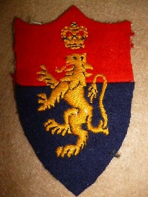 H.Q. Middle East Land Forces Embroidered Patch Post WW2 - UK