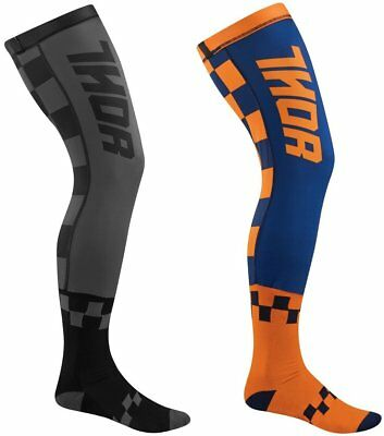 Thor Mens Full Length Knee Brace Socks Pair