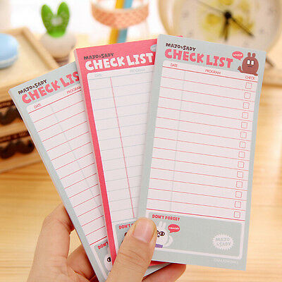 list To Do List Planner Stickers Paper Sticky Notes Stationery Office SuppliesLA