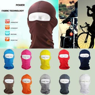 Full Face Mask lycra Balaclava Ultra-thin Motorcycle Cycling Neck Protecting Hot