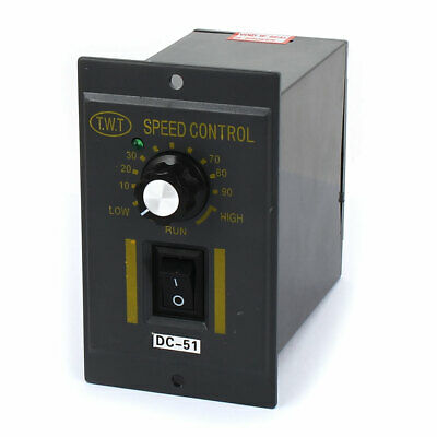 DC51 AC 220V to DC 24V Test Equipments Switch Motor Speed Controller Grey