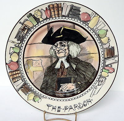 Royal Doulton Professionals Seriesware Plate The Parson 10½ Inch Diameter #1
