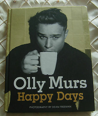 Olly Murs Happy Days Hb Book 2012 Hand Signed Autographed X Factor Pop
