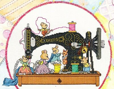 Graphworks - SEW PETITE - Antique Sewing Machine, OOP,  NEW, c1993