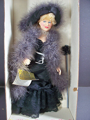 "Effanbee Doll Legend Series Mae West ""come Up And See Me Sometime"" Gal #1982 16"""