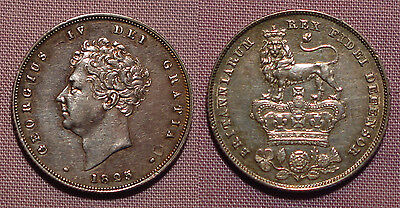1825 KING GEORGE IV SHILLING - High Grade Coin