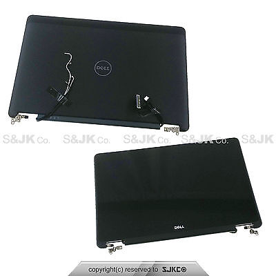 "Dell Latitude E7250 12.5"" FHD Touchscreen LCD Screen + Cover Complete Assembly"