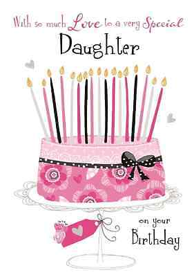 Special Daughter Birthday Greeting Card Second Nature Daydreams Cards