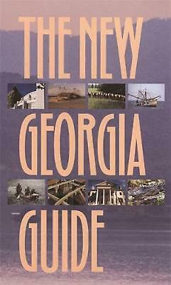 New Georgia Guide by University of Georgia Press Paperback Book (English)