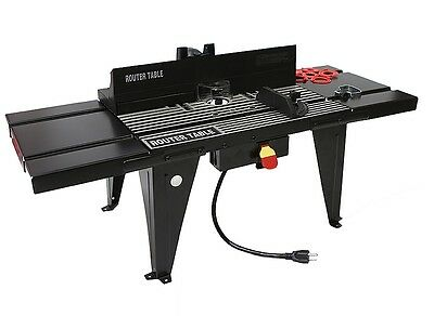 "34"" x 13""  Aluminum Table Top Bench Work Router Table Power Table Stability"
