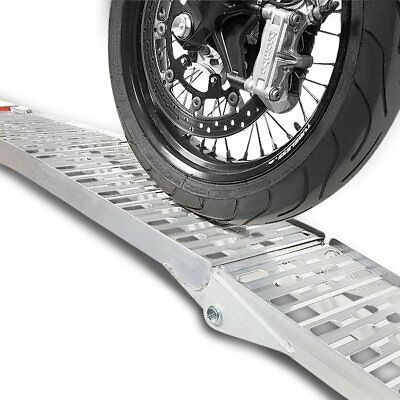 Motorcycle aluminium loading ramp I Constands, max. 340 kg, foldable motorbike