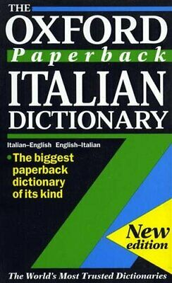 The Oxford Paperback Italian Dictionary: Italian-English, English-I... Paperback