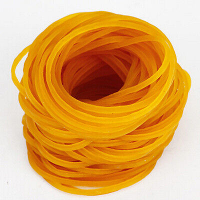 100Pcs/Bag Strong Elastic Rubber Bands Ponytail Holder Ties Home Office Supplies