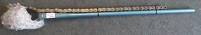 "Gedore 122008 Chain Pipe Wrench American Pattern 1-1/2"" to 8"" Germany"