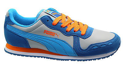 Puma Cabana Racer SL Jr Kids Trainers Juniors Shoes Lace Up 351979 25 D53