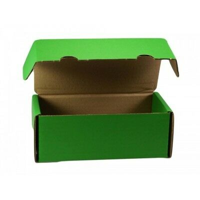 MTG Coloured Storage Box Holds 550 Sleeved Magic / Trading Cards - Green