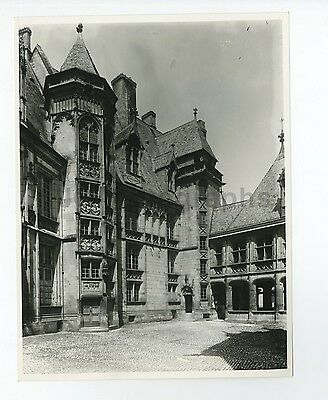 French History - Jacques Coeur's House, Bourges - Vintage Photograph