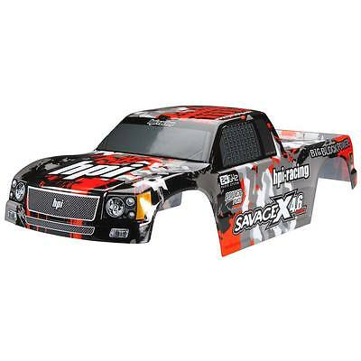 NEW HPI Racing Nitro GT-3 Body Gray/Red/Black Savage X 105898