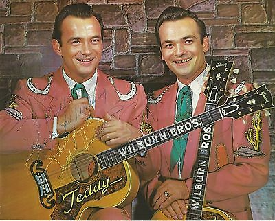 Wilburn Brothers 8x10 Publicity Photos Lot #2 - Grand Ole Opry Scrapbook