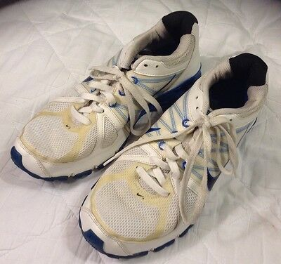 check out 80fd5 8b0f3 Nike Shox - Trainers4Me  NIKE Womens 9 Shox Agent BRS 1000 White Blue Running  Athletic Gym Shoes . ...