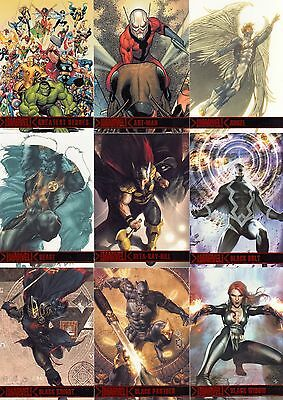 Marvel Greatest Heroes 2012 Rittenhouse Archives Partial Base Card Set 80/81