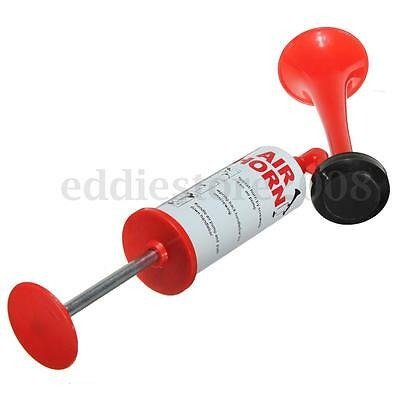 Hand Held Loud Pump Air Horn No Gas Sport Boating Events Party Festival Football