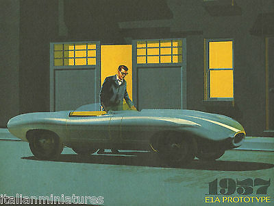 Jaguar E Type 50th Year Poster Art Images 1957 E1A to Series 3 1971 Brochure