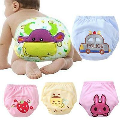 Newborn Baby Boys Girls Cloth Wrap Diaper Cover Underwear Pants Pocket Nappy