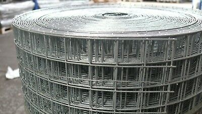 """Welded Wire Mesh 1"""" x 1"""" x 36"""" x 30mtr (16g) - Quality Galvanised Wire"""