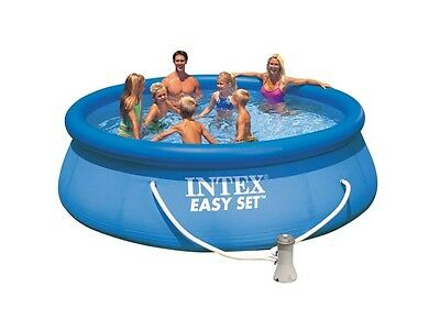 Intex 28168 Quick Up 457 x 122 cm Easy Set Swimming Pool aufblasbar Komplettset