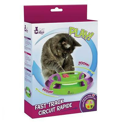 jouet  chat - Fast Track Circuit Cat Love