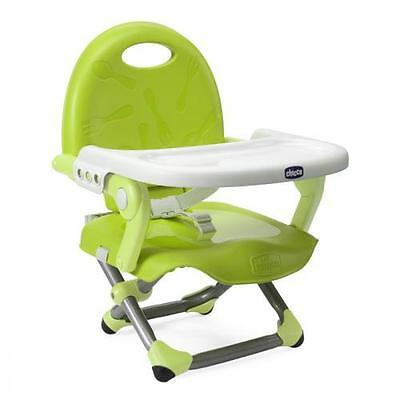 Chaise Haute - Rehausseur Pocket Snack - Lime