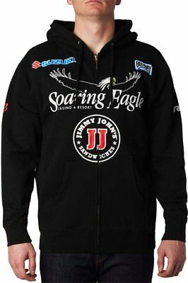 Fox Racing Mens RCH Team Replica Zip Motocross Hoody Sweatshirt