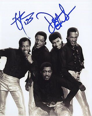 The Temptations - Classic Motown Group - Autographed 8x10 Photograph