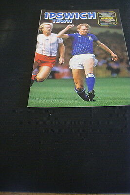 Ipswich Town v Liverpool 12 September 1981