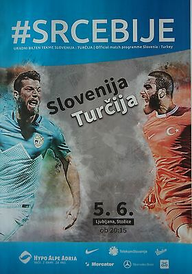 off. programme 5/6/2016 Slovenia vs Turkey in Ljubljana