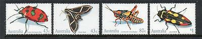 Australia Mnh 1991 Sg1287-1290 Insects Set Of 4