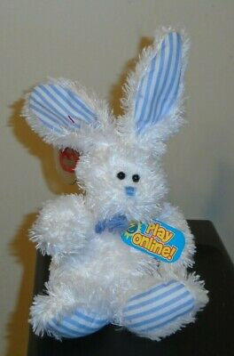Ty 2.0 Beanie Baby ~ HOPSY the Bunny Rabbit - MINT with MINT TAGS Stuffed Animal